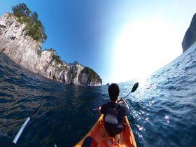 隠岐の島町の海はシーカヤックに最適!海洋スポーツセンターへGO