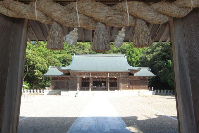 夜に参拝できる隠岐神社