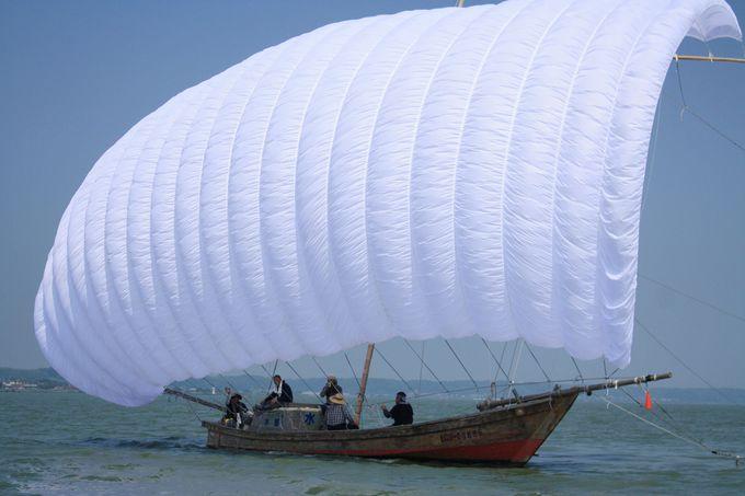 霞ヶ浦は国内で二番目に大きな湖