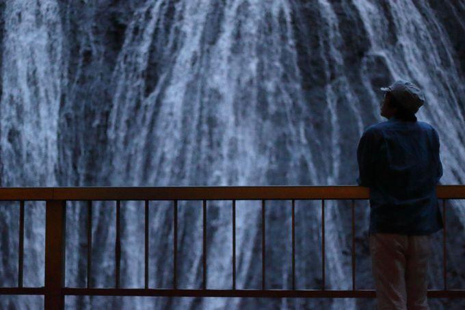 日本三名瀑の一つ、袋田の滝