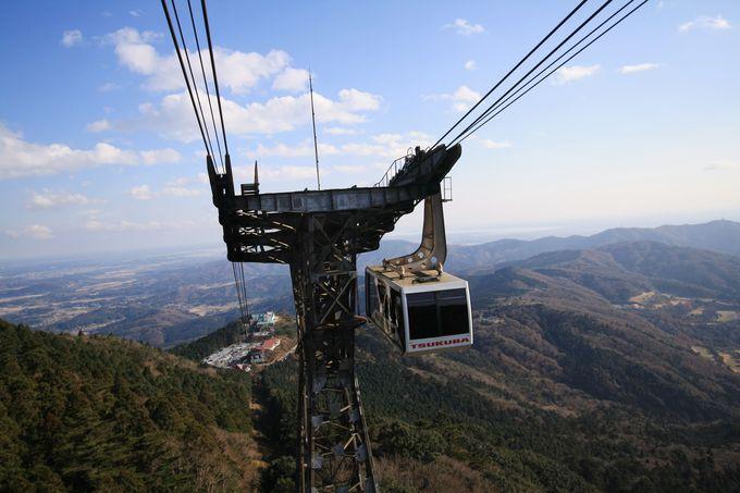 茨城県のシンボル的存在、筑波山