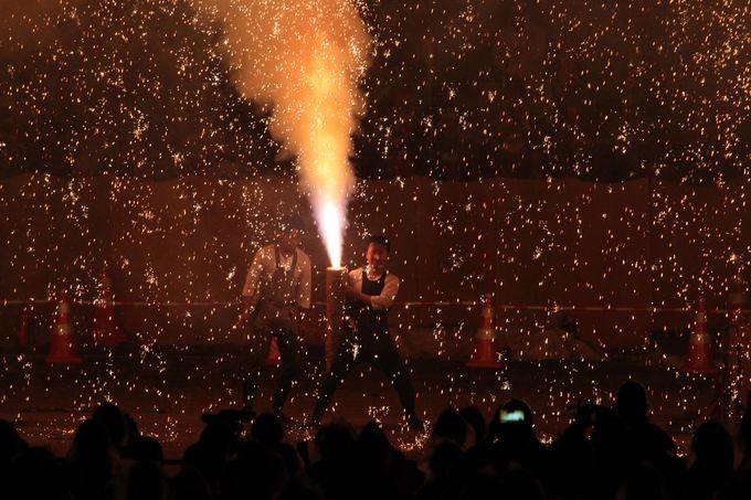 炎の祭典について