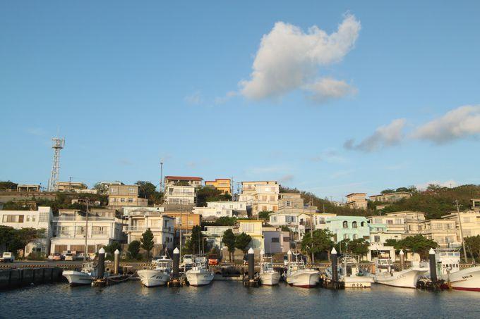 午後前半:島の東端「佐良浜港」で町歩き