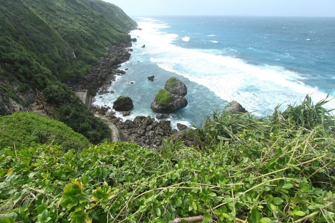 午後後半:伊良部島の海は北東部がスゴい!