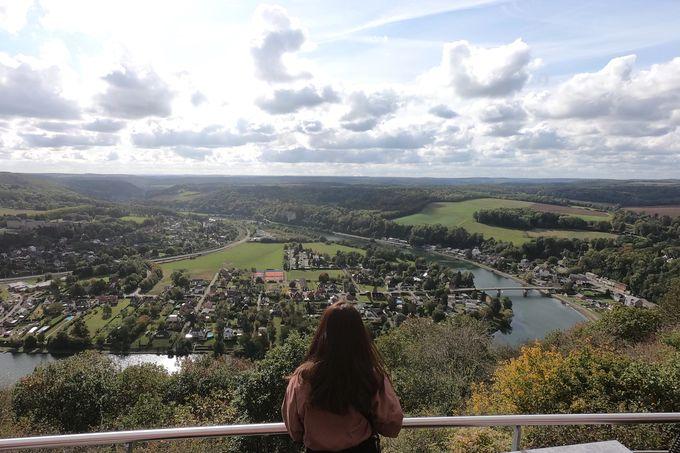 ワロン地方の景色を一望できる「Les 7 Meuses」