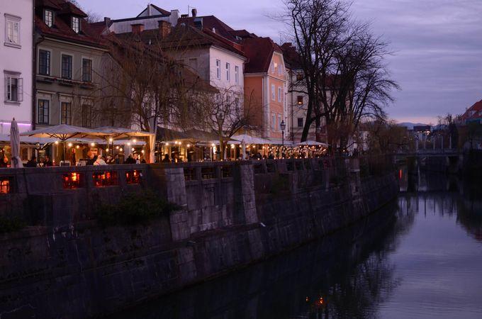 スロベニアの首都「リュブリャナ」