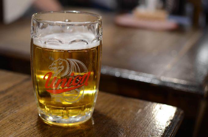 リュブリャナのビールもあります