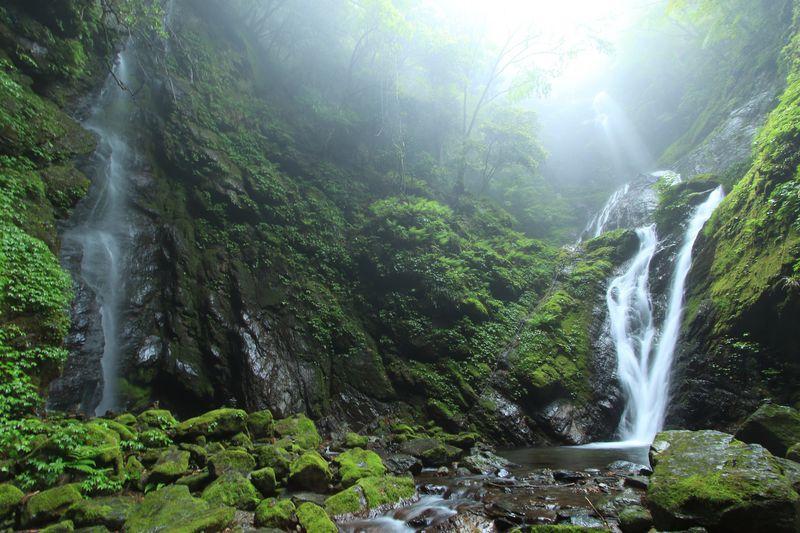 雨乞いの滝は徳島神山町の癒しスポット!緑溢れる滝名所を愛でろ