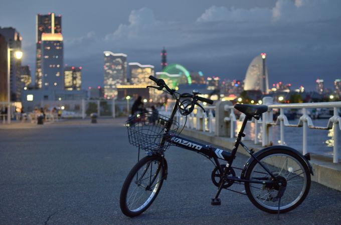 自転車を借りて観光へ