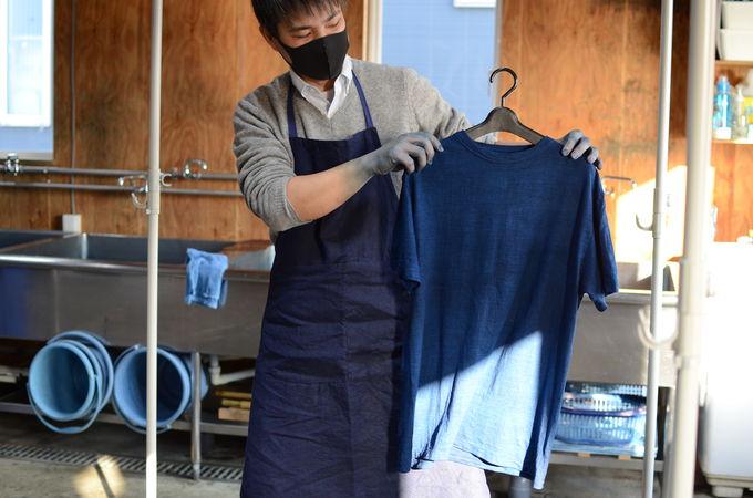 「Watanabe's」でジャパンブルー体験