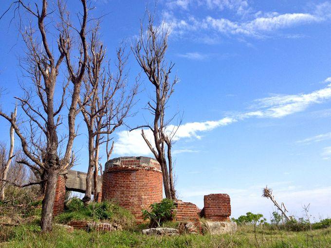 ひっそりと佇む沖縄最古の灯台