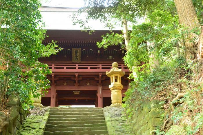 鐘楼が逗子八景に指定される724年創建の歴史ある古刹、神武寺
