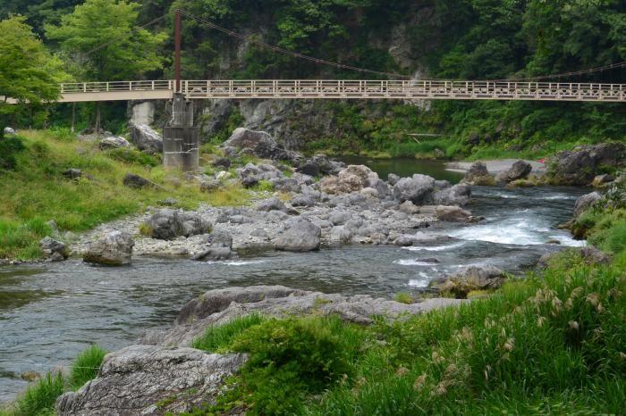 御岳渓谷は東京からもっとも近いリバーアクティビティスポット