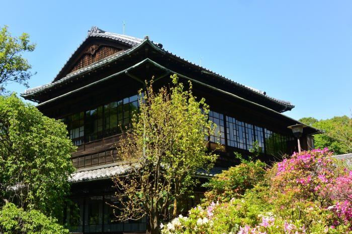 子爵の邸宅が客殿となった寺 妙寿寺