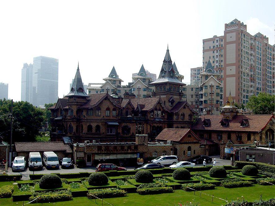 イギリス人富豪が建てた北欧風の邸宅「衡山馬勒別墅飯店(ヘンシャン モラー ヴィラ)」