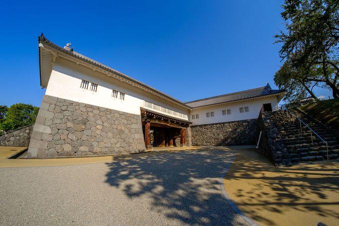 江戸城にも匹敵する規模を持つ巨大城門「二の丸東大手門」