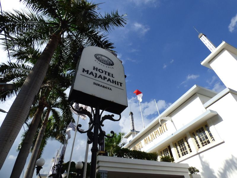 インドネシア「ホテルマジャパヒ」はラッフルズホテルと同じコロニアル様式!
