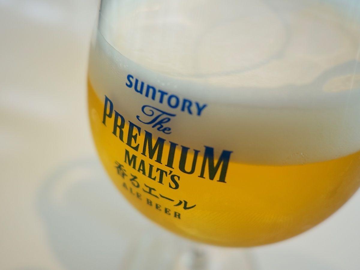 歴史ある長岡京で生産される「ザ・プレミアム・モルツ」