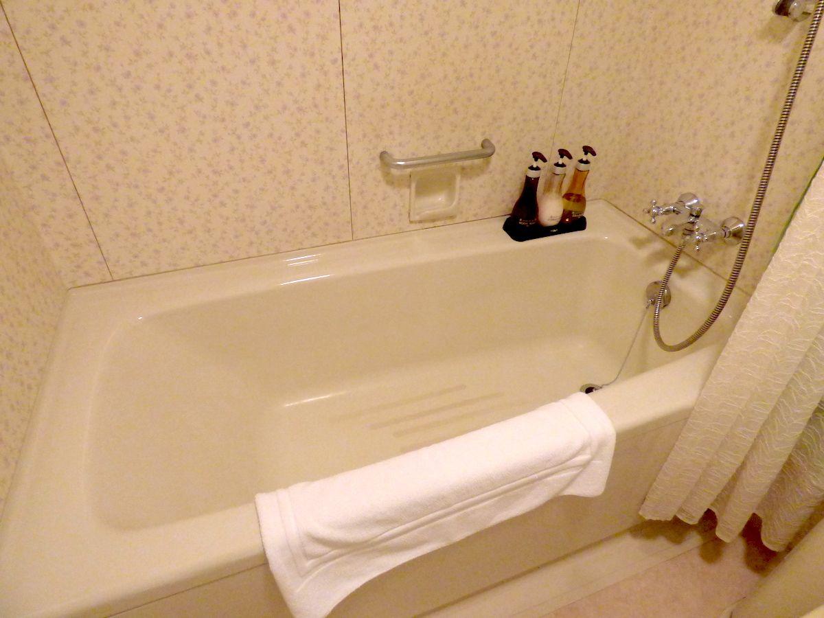 バスルームやアメニティ類は標準的
