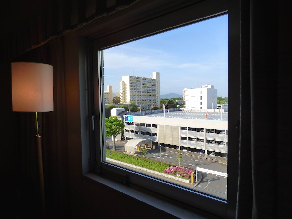 部屋からの眺めはシティビュー!