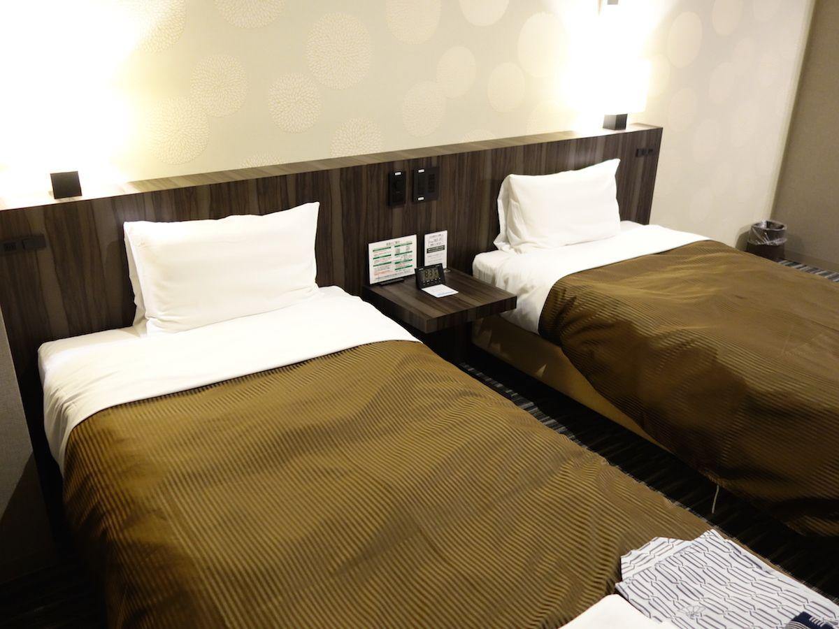 夜景が見える部屋がオススメ、部屋はとても清潔