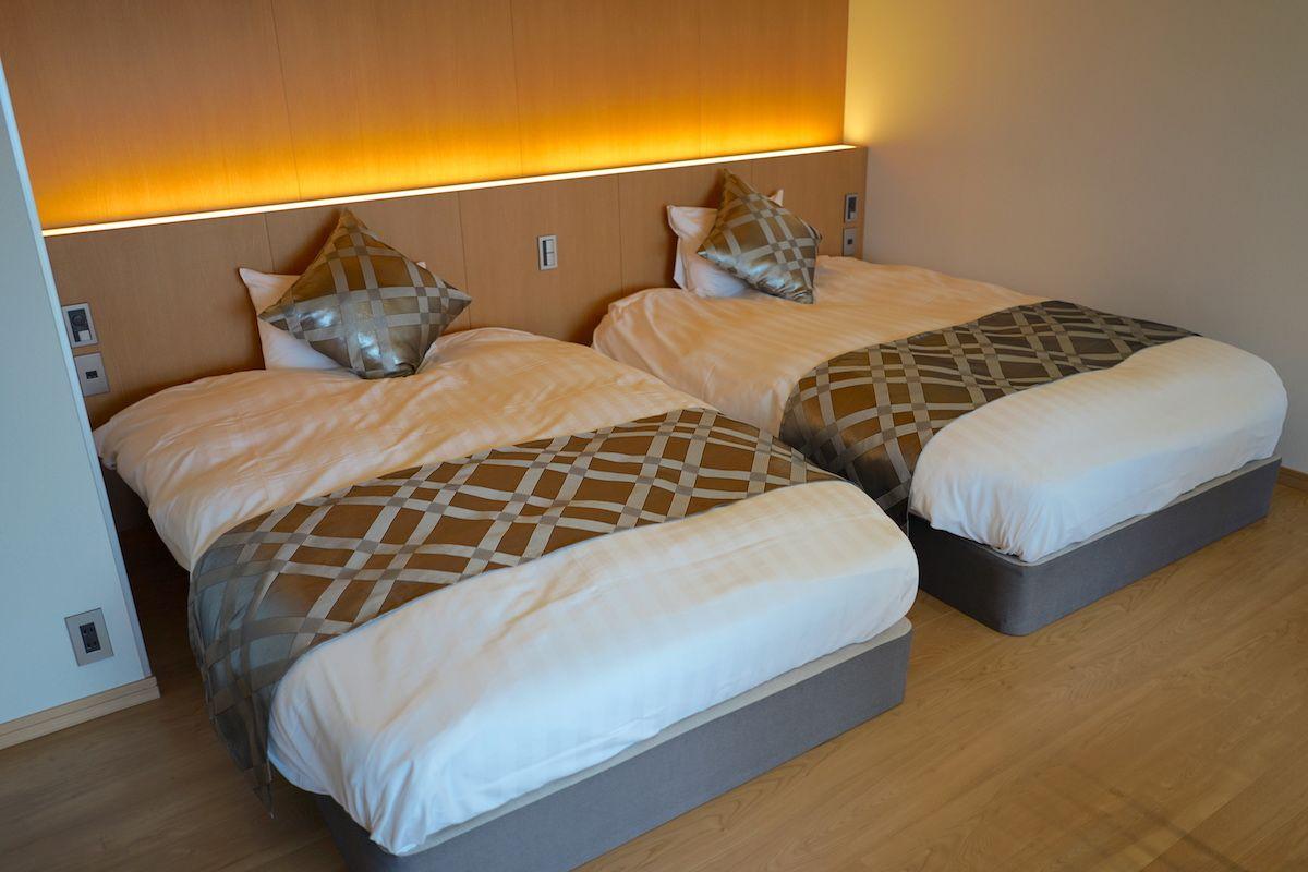 部屋はモダンコンセプトな4タイプ、露天風呂付きも