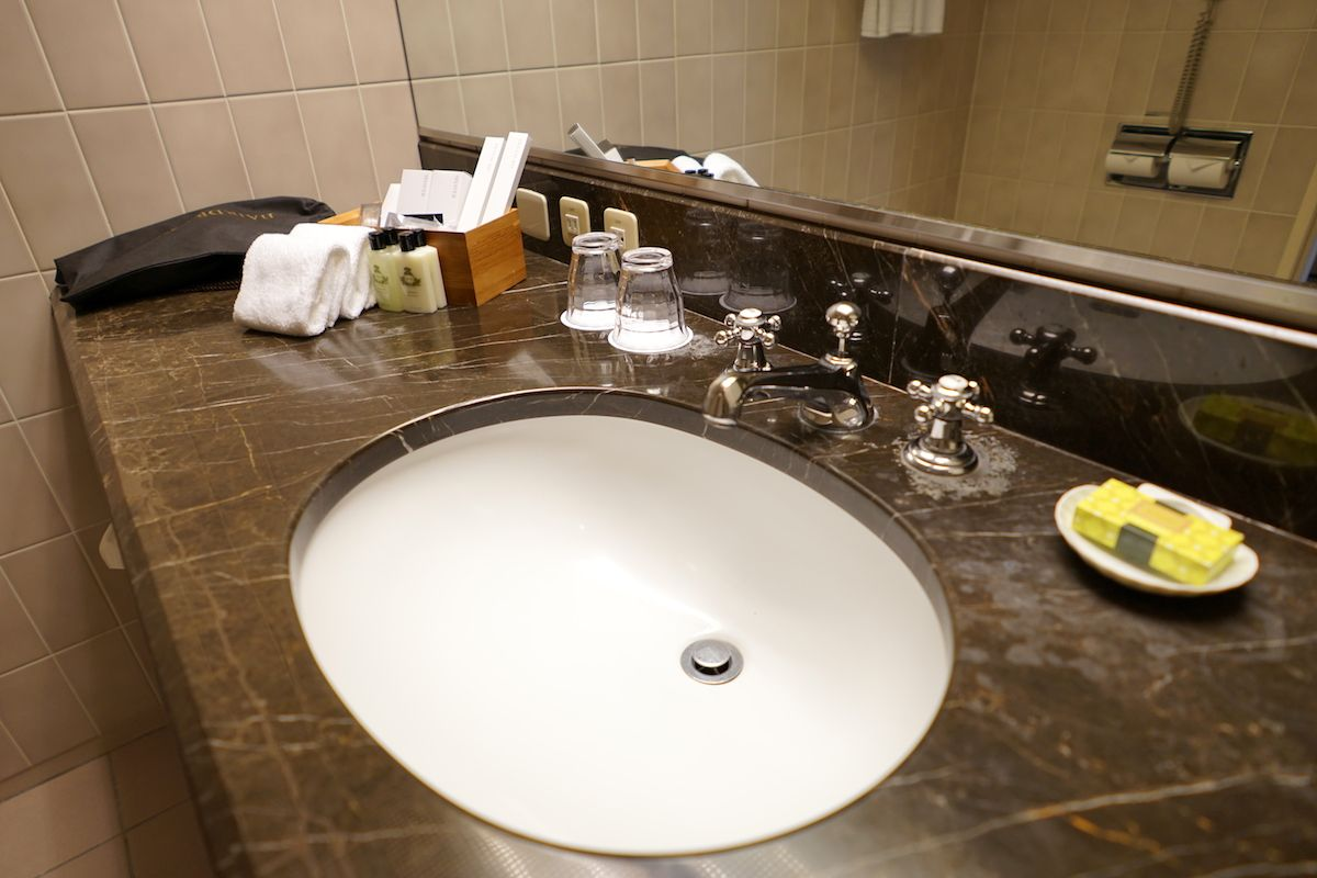 バスルームはとても清潔!