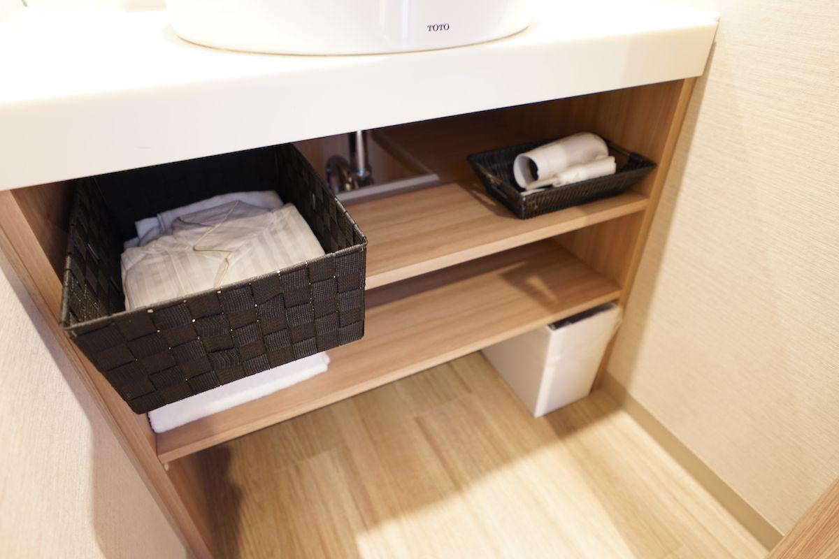 バスルームは日本スタイルで清潔!