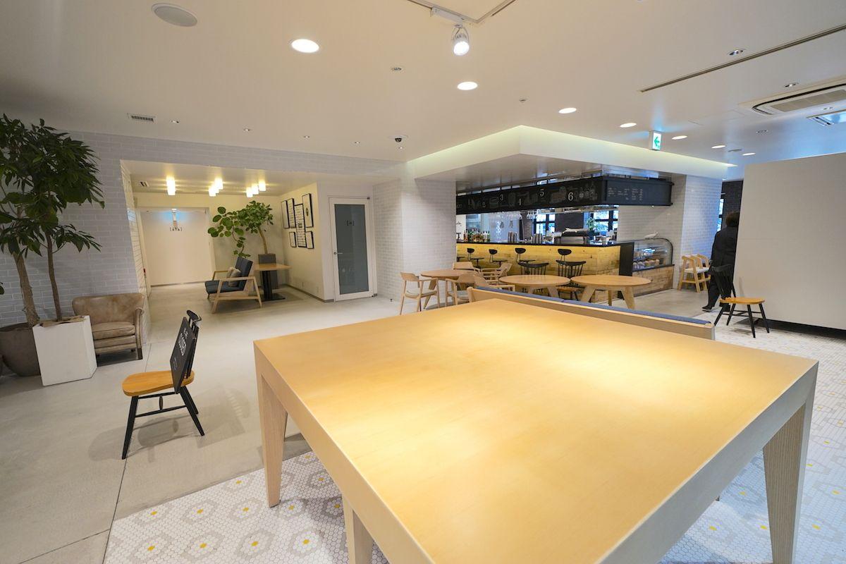 まるでカフェ!便利で快適な共有スペース