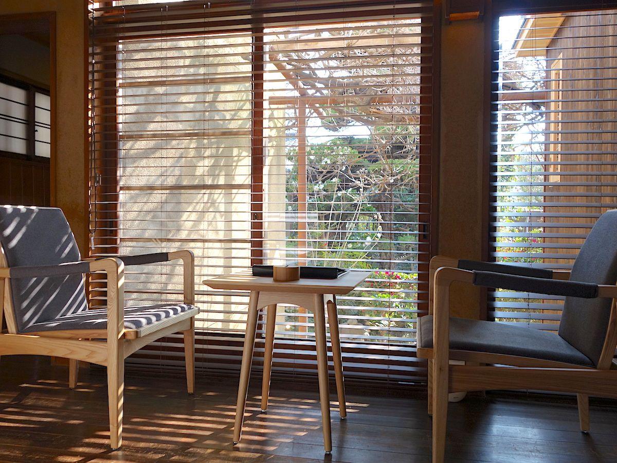客室は光を生かした上質な空間