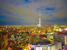 ビューバスと夜景でテンションUP「浅草ビューホテル」は記念日にぴったり
