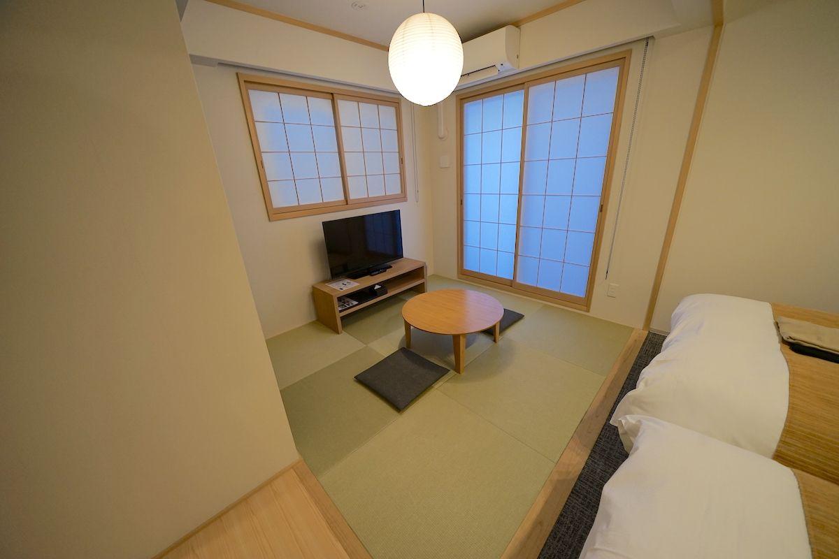 客室は清潔で、きれい!畳もある和洋室がオススメ!