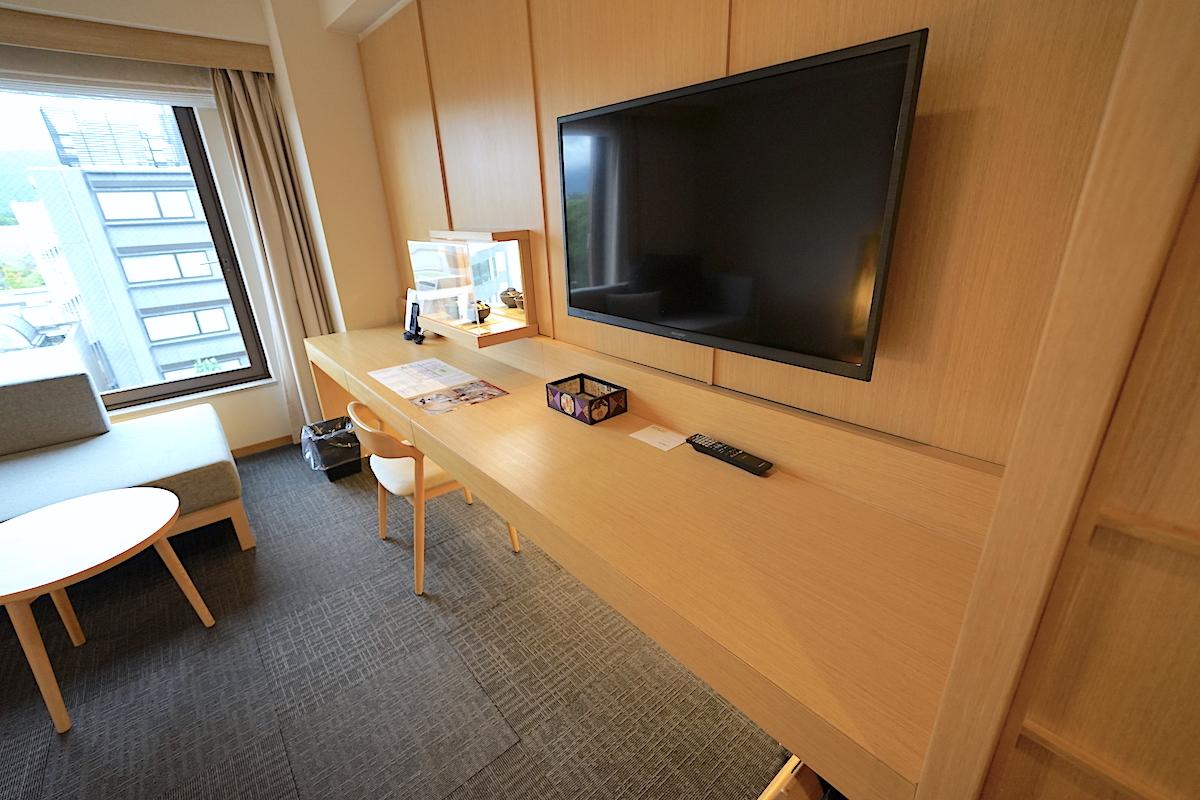 日本らしく上質な客室