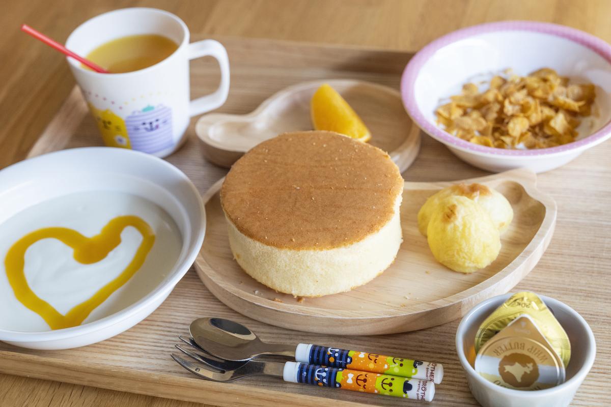 選べる朝食が嬉しい!