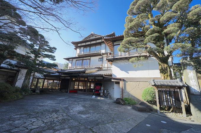 修善寺で登録有形文化財に宿泊できる宿と言えばここ