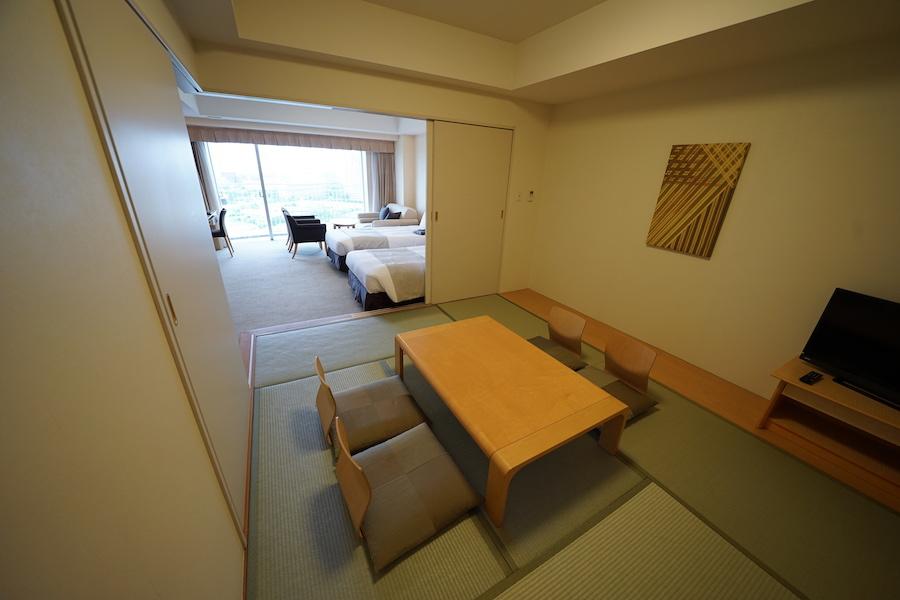 おすすめは広い和洋室