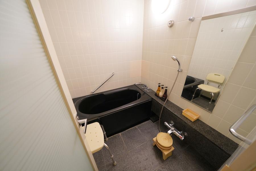客室はシンプル&モダンなデザイン