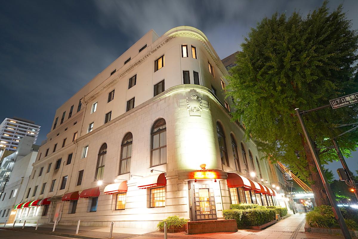 ホテルニューグランドは港町横浜市民の象徴
