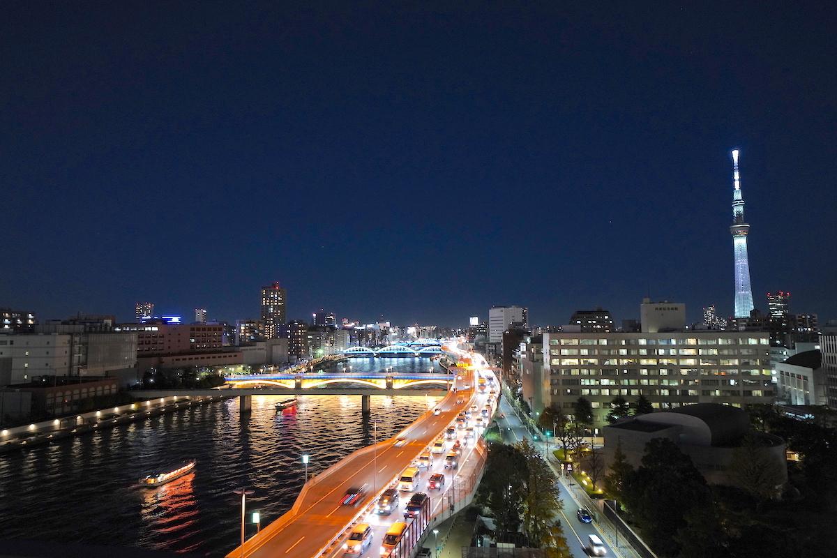 ルーフトップバーがある新東京夜景ホテル「THE GATE HOTEL 両国」