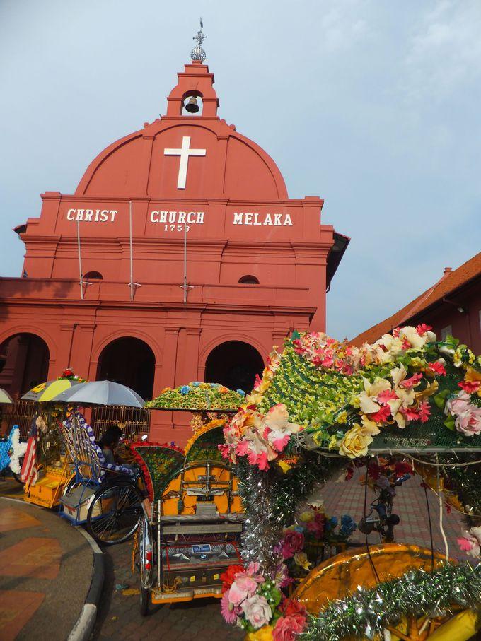 オランダ広場からスタート!世界遺産の教会や史跡を巡る