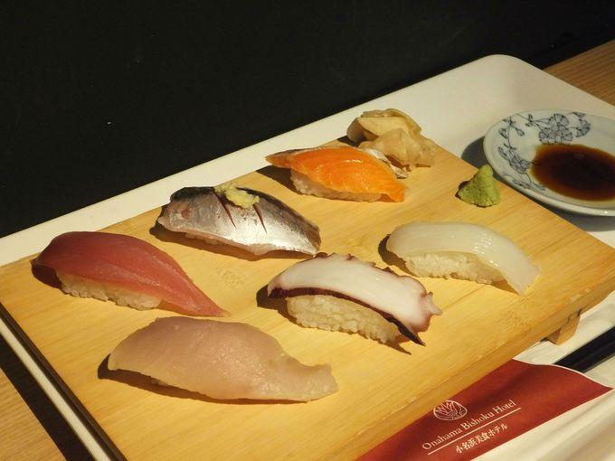 水族館にお寿司屋さん!?目の前を魚たちが泳ぐ寿司処「潮目の海」