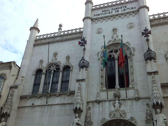 19世紀に創設された王立ポルトガル図書館