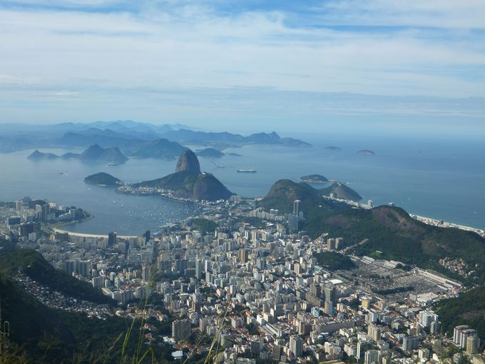 世界三大美港を一望!リオ屈指の絶景スポット