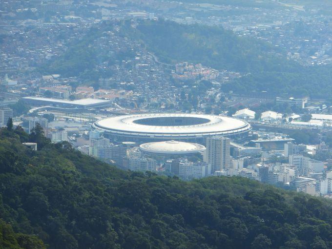 リオ五輪のメインスタジアム!マラカナンを望む