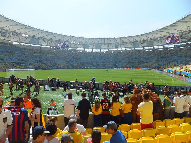 フィールド、観客席、屋根…。すべてが美しい「マラカナン」