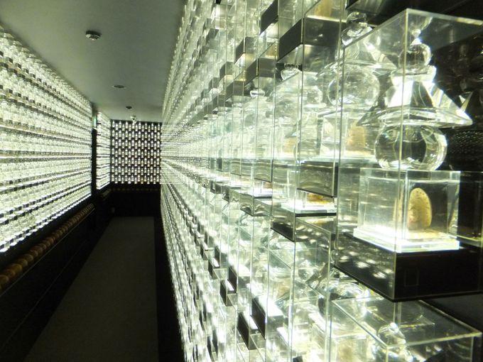 神秘的な美しさ!1万体のクリスタルが輝く「祈りの回廊」