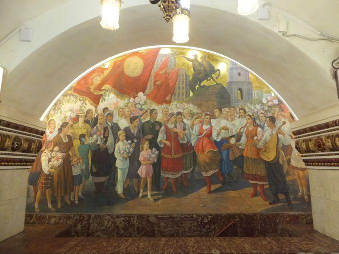 オススメ駅その1:キエフスカヤ駅(5号線・3号線)