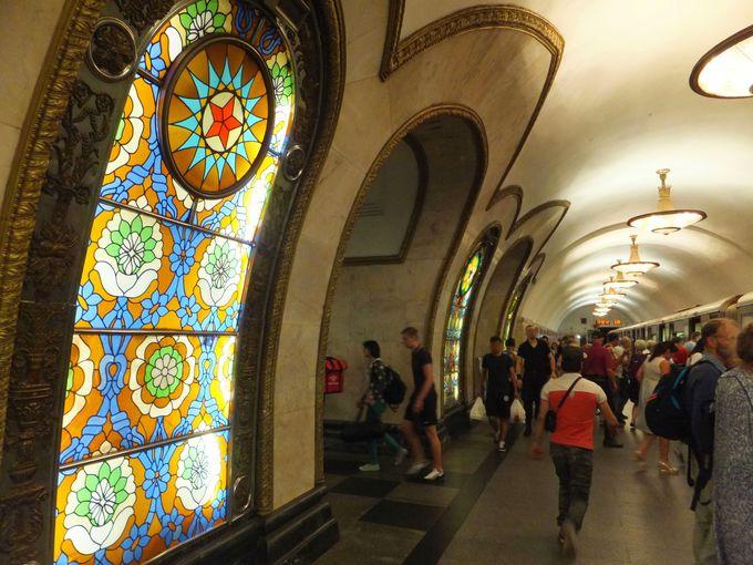 オススメ駅その3:ノヴォスロボーツカヤ駅(5号線)