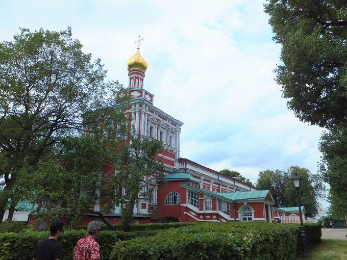 あの『白鳥の湖』も!「ノヴォデヴィチ修道院」