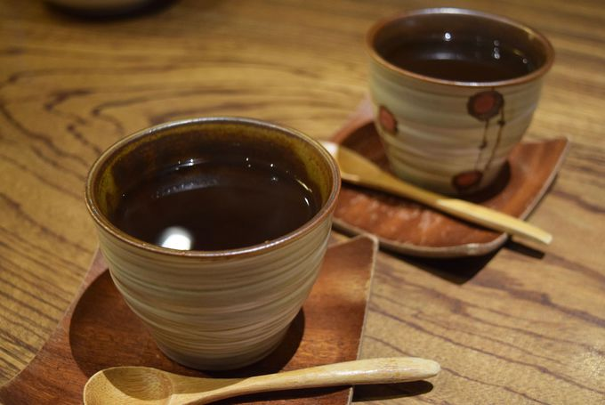 韓流カフェでタピオカミルクティー&パッピンス